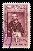 Lafayette Us Postage Stamp