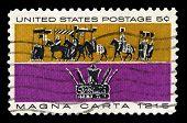 Magna Carta Us Postage Stamp