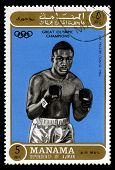 Joe Frazier Olympic Champion Postage Stamp
