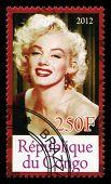 Marilyn Monroe Postage Stamp
