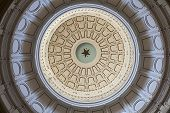 Texas State Capitol's ceiling
