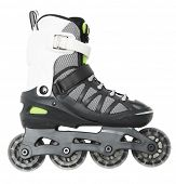 Inline skate isolated on white background