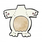cartoon polar bear body (mix and match cartoons or add own photos)