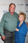 LOS ANGELES - MAY 14:  Jeffrey Jones, Debbie Reynolds at the