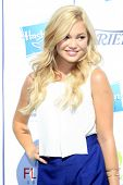 LOS ANGELES - JUL 27:  Olivia Holt at the Variety's Power of Youth  at Universal Studios Backlot on