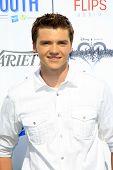 LOS ANGELES - JUL 27:  Joel Courtney at the Variety's Power of Youth  at Universal Studios Backlot o