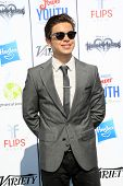 LOS ANGELES - JUL 27:  Jake T. Austin at the Variety's Power of Youth  at Universal Studios Backlot