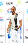 LOS ANGELES - JUL 27:  Brandon T. Jackson at the Variety's Power of Youth  at Universal Studios Back
