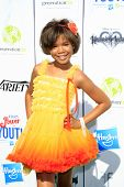 LOS ANGELES - JUL 27:  Storm Reid at the Variety's Power of Youth  at Universal Studios Backlot on J