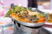 Spicy fish Tomyum