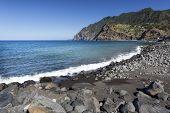 Beach on Madeira's North Coast, Portugal