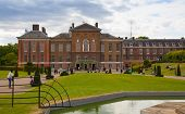 LONDON, UK - AUGUST 16, 2014: Kensington palace and gardens