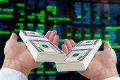 concept image of stock exchange