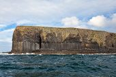 Basalt Columns On Isle Of Staffa