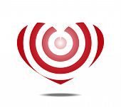 Heart Shaped Target