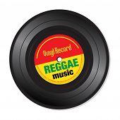 Reggae vinyl record