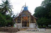 Chapel renovations at Wat Xieng Thong
