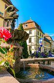 City Fountain  in Fulda, Germany