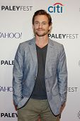 NEW YORK-OCT 18: Actor Hugh Dancy attends PaleyFest NY 2014 for