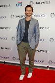 NEW YORK-OCT 18: Actor Hugh Dancy attends PaleyFest NY 2014 for
