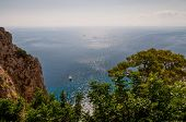Beautiful Sea In Capri