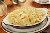 Buttered Pasta With Parmesan Cheese