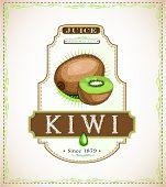 Kiwi product label