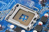 Computer motherboard, CPU socket, DOF