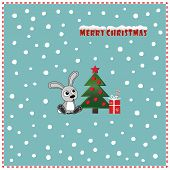 image of rabbit year  - New Year Card - JPG