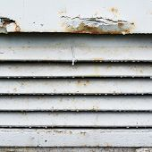 foto of ventilator  - Old rusty ventilation grille fragment as a background texture - JPG