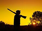 stock photo of hunters  - hunter - JPG