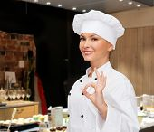 stock photo of chef cap  - cooking - JPG