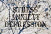 image of physical education  - Conceptual expression of stress - JPG