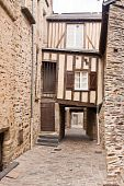 Timber Framed House In Vitre