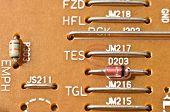 Electronics circuit board detail