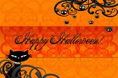 Happy Hallowen card