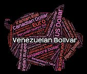 picture of bolivar  - Venezuelan Bolivar Showing Exchange Rate And Foreign - JPG