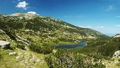 Panorama Of Pirin National Park, Bulgarian Unesco Heritage, Mountains Are Named After Perun