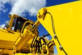 picture of hydraulics  - Bulldozer - JPG