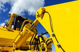 stock photo of power-shovel  - Bulldozer - JPG