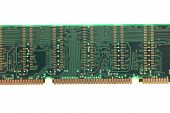image of back view of memory module