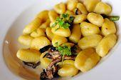 Mushroom Gnocchi Cuisine