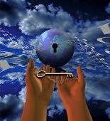 A chave para o mundo: A internet