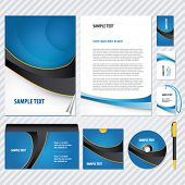 picture of web template  - Template for Business artworks - JPG
