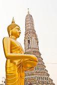 Buddha At Wat Arun Soak Up The Bowl