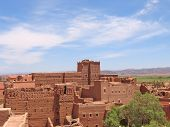 Red Fortress In The Desert, Taourirt Kasbah, Ouarzazate, Morocco
