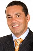 Hispanic Business Man Portrait