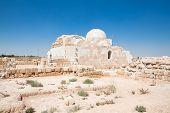 Hammam Al Sarah desert castle, World heritage.Jordan