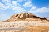 The Sialk mound terraced step pyramid date back to 5500?6000 BC. is World Heritage Site at UNESCO. K
