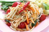 Som tam, Papaya salad,Thai cuisine